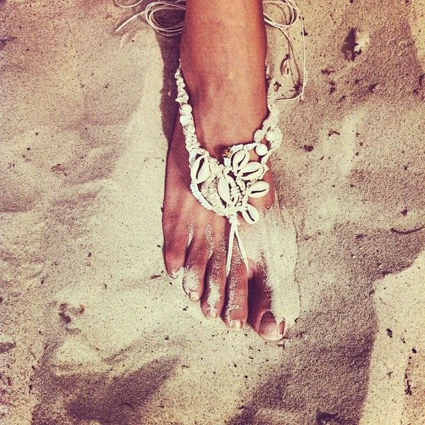 Delphine Racca Art Anklet shoe thing.