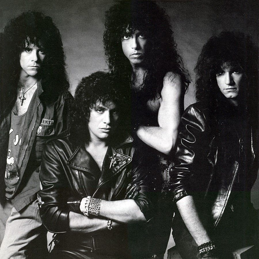 Kiss Band Members Without Makeup: KISS--crazy Nights, 1987