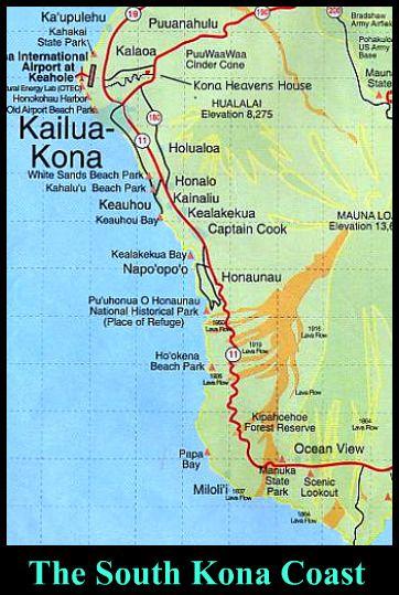 South Kona Coast Map   Hawaiʻi in 2019   Kailua kona hawaii ... on molokai hawaii coastline, waikiki hawaii coastline, kauai coastline,