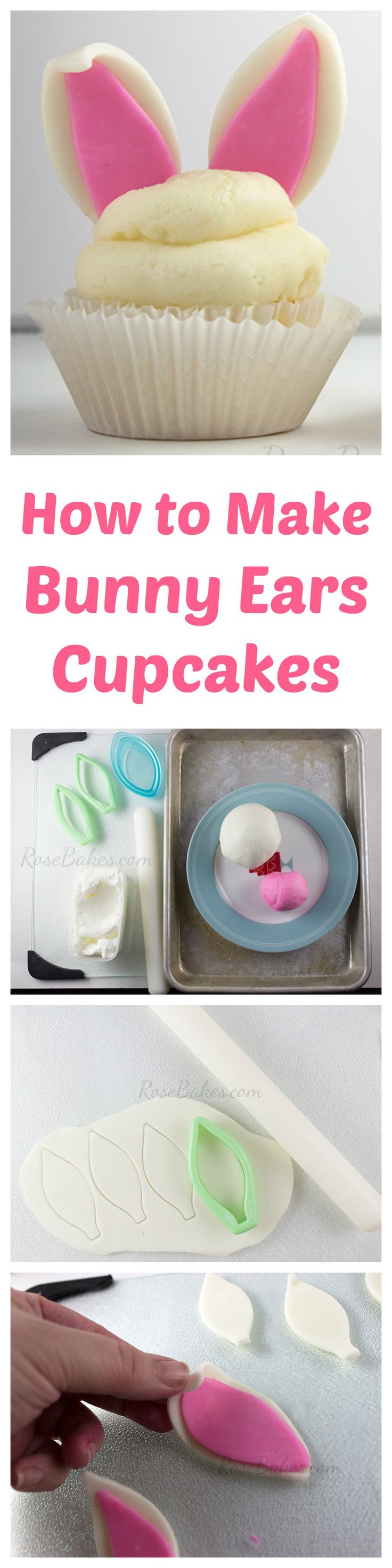 How to Make Bunny Ears Cupcakes