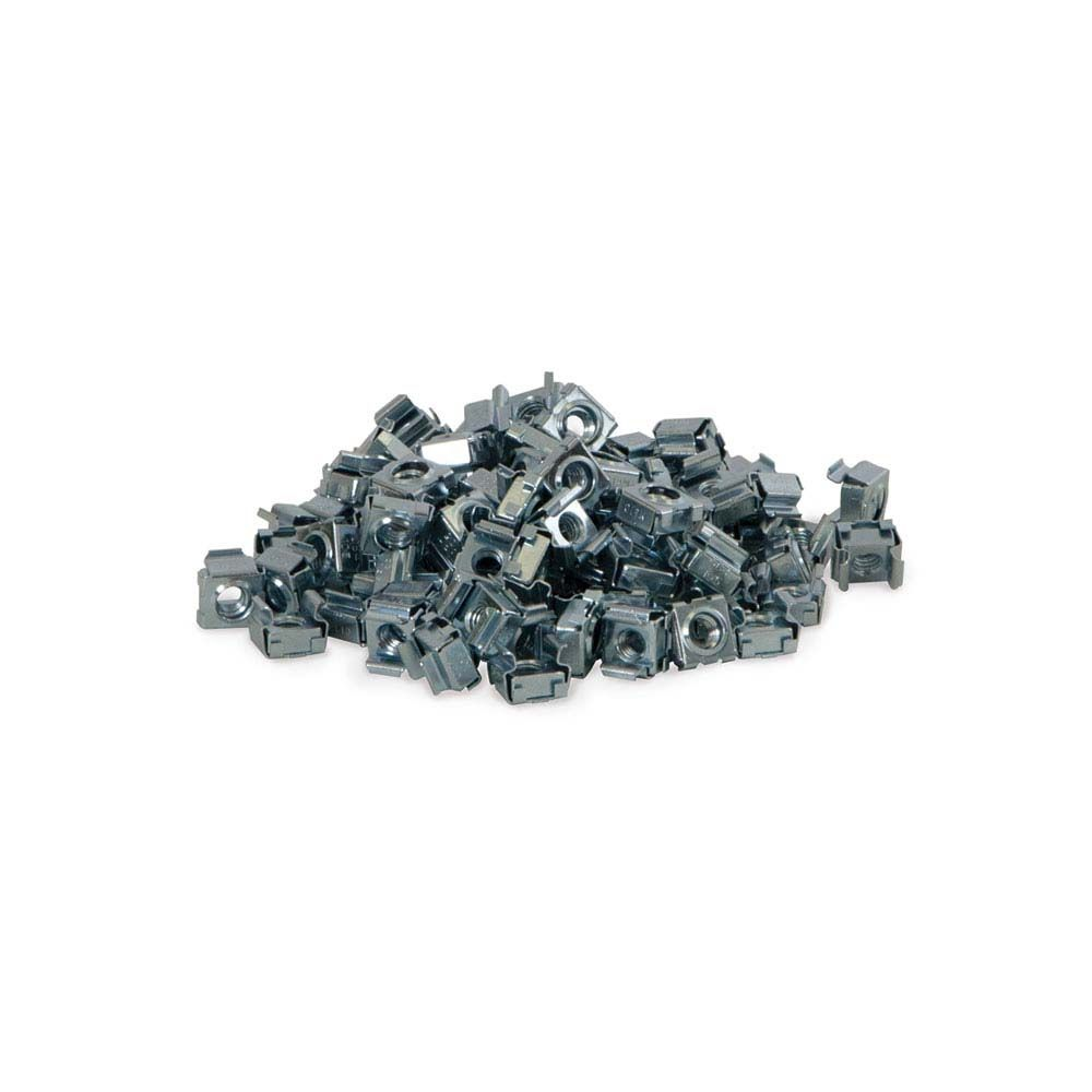 12 24 Cage Nuts 100 Pack Cage Open Frame Steel Cage