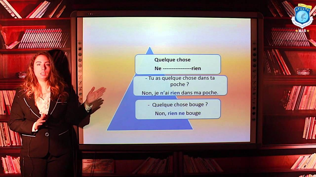 Fr.- Français -  La Phrase négative - Dalia Bassim