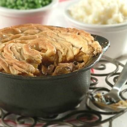 My Mother's Homemade Steak Pie with Minted Peas | Recipe ...