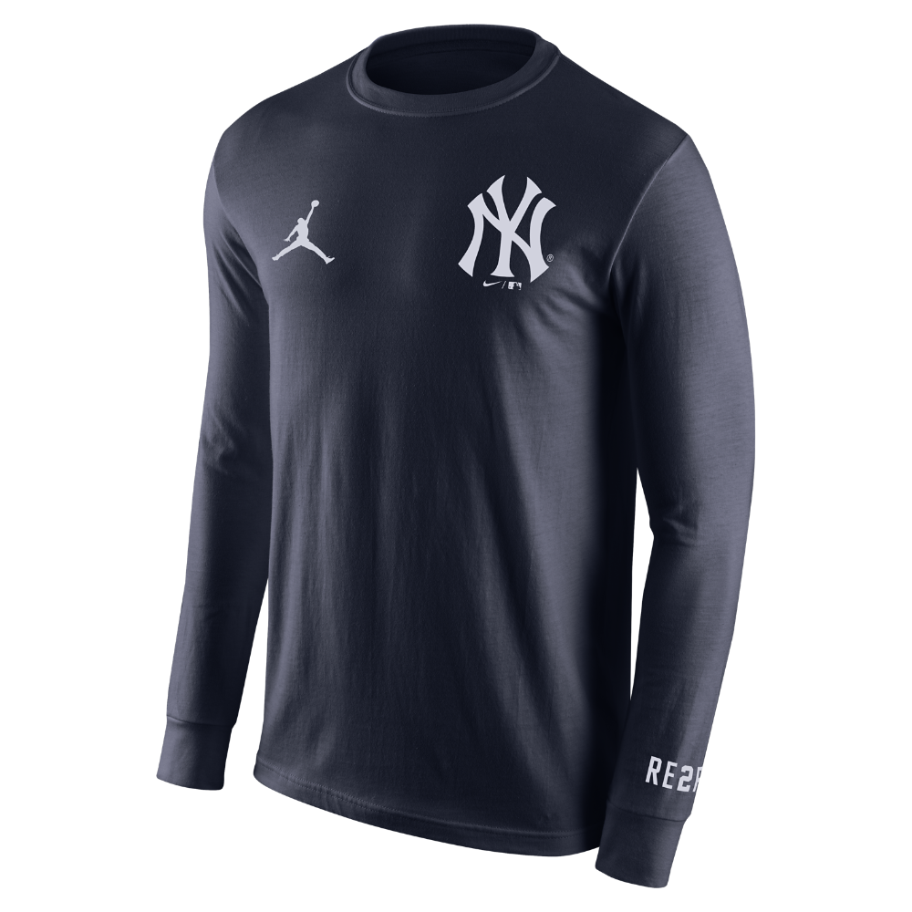 ed4d511d523bed Jordan RE2PECT NY Logo Men s Long-Sleeve T-Shirt
