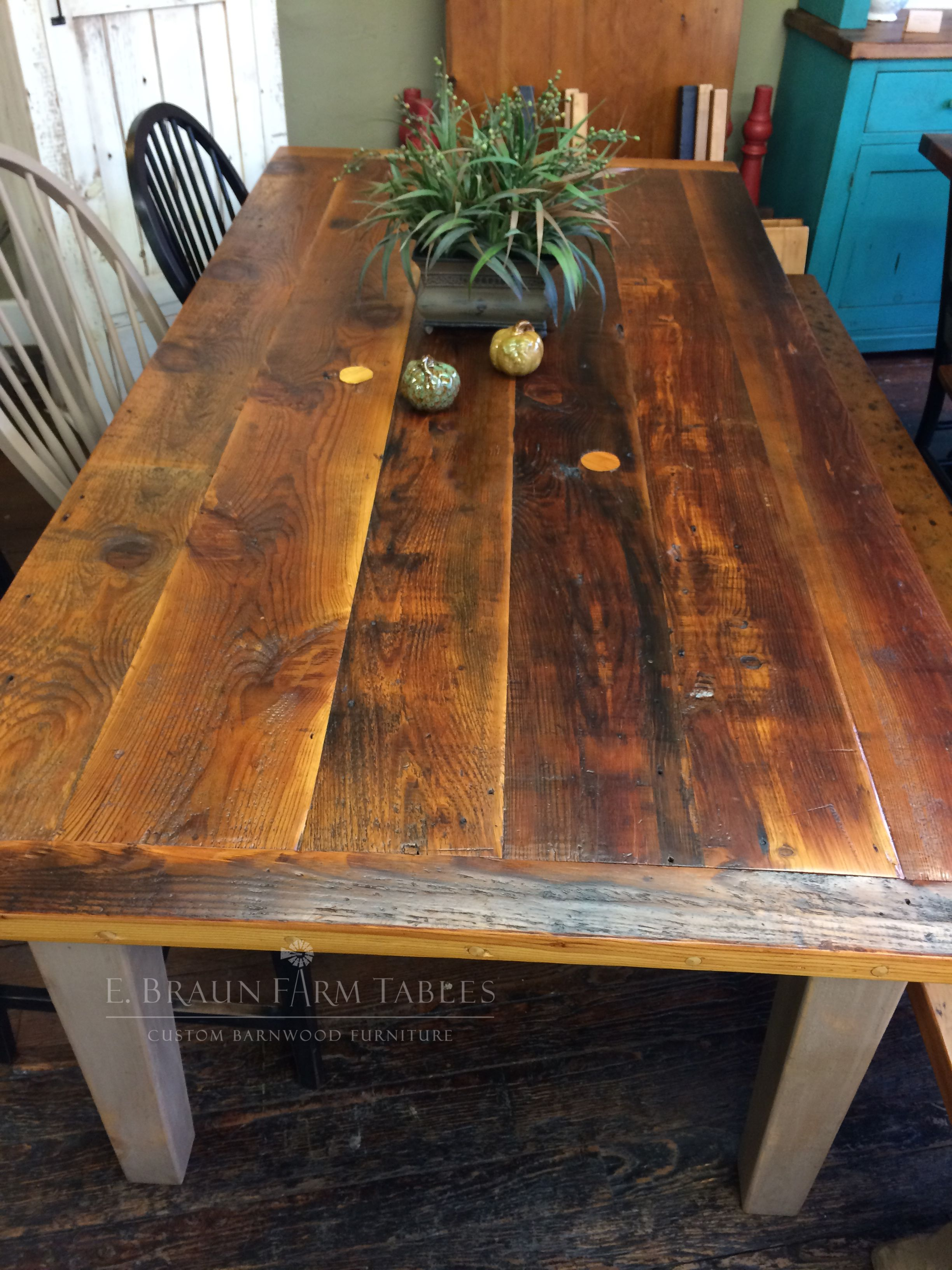 Mixed Patina Boards Were Chosen To Give This Reclaimed Barn