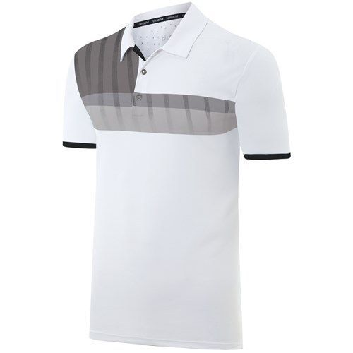 Adidas Mens ClimaChill Chest Stripe Polo Shirt 2015 Mens