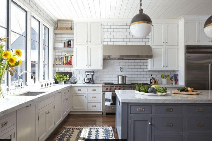 Fein Küchenschranktüren Weiß Schüttler Fotos - Küchen Ideen ...