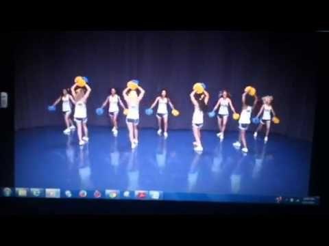 Louie Louie band dance - YouTube   cheer dances   Cheer