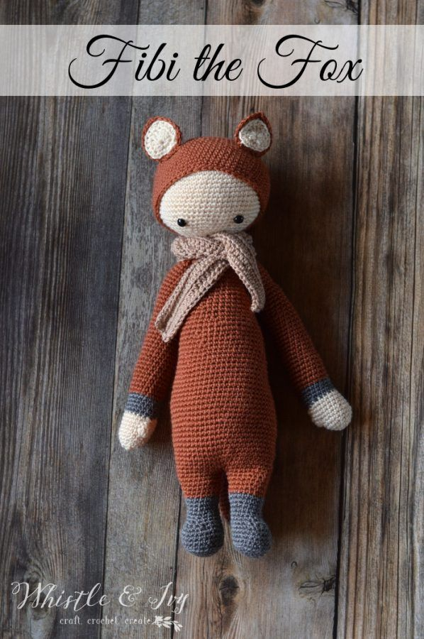 Fibi the Fox Lalylala Doll | Amigurumi, appliqués, and dolls ...