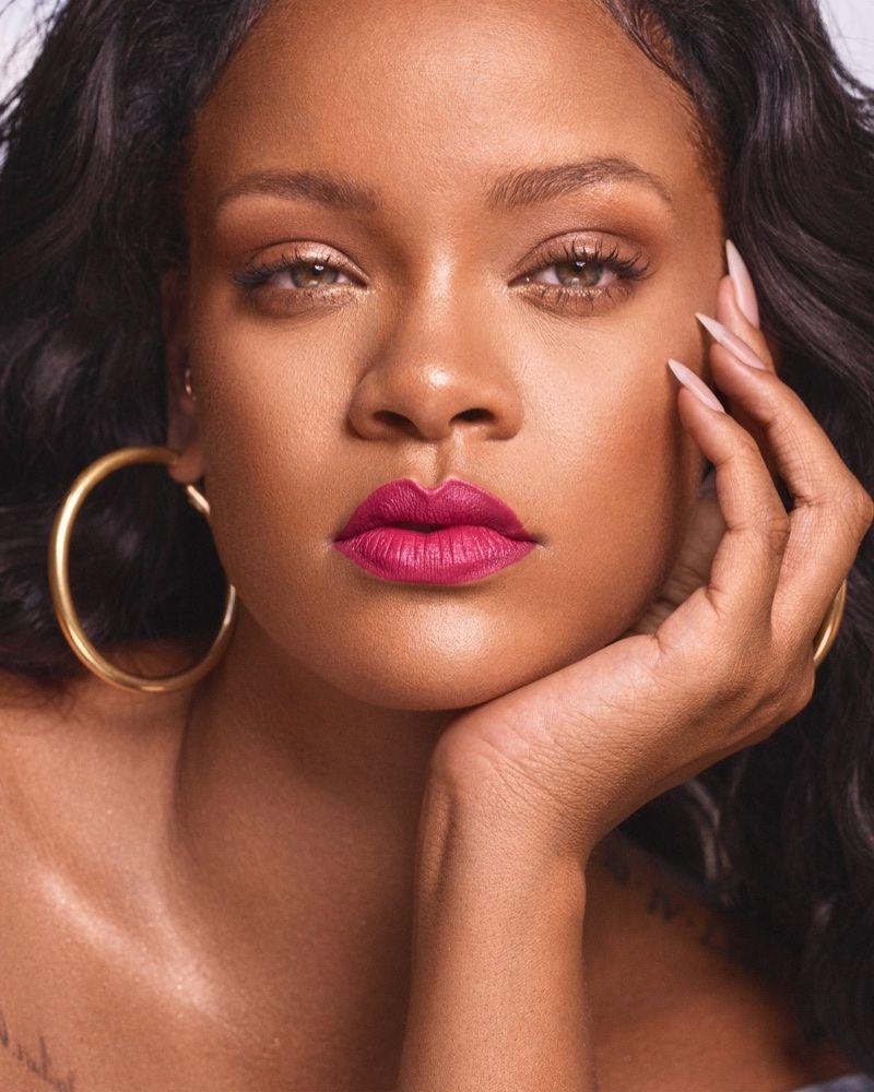 Rihanna Wows in Fenty Beauty's Newest Lipstick Shades