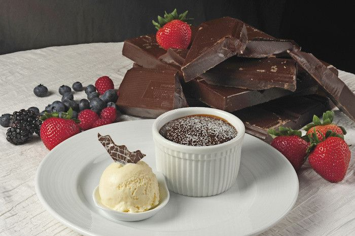 Warm Chocolate Melting Cake by Carnival Cruise Line