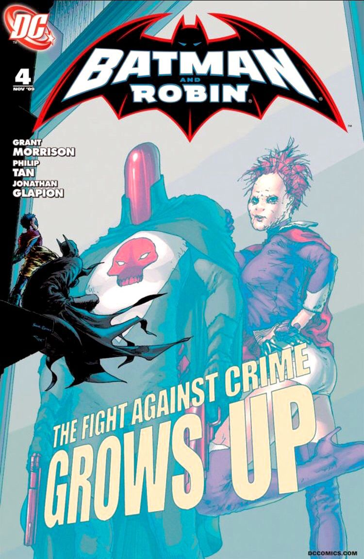 Batman and Robin no. 4 (Nov 2009)