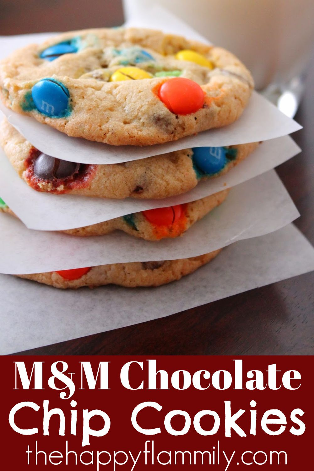 M M Chocolate Chip Cookies Original M M Cookie Recipe Chocolate Chip Cookie Calories Chip Cookies