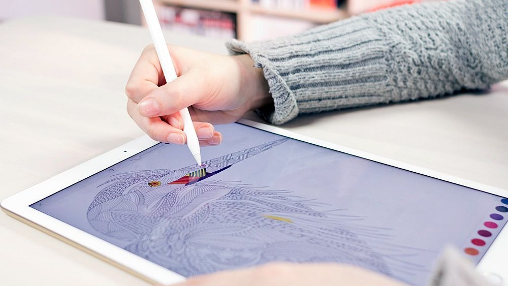 Millie Marottas Adults Colouring Books Are Now An IPad App