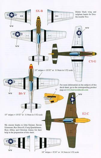 barracudacals 1 72 1 48 y 1 32 escala p 51d pt 1 adhesivos de rh pinterest com Air Force One Diagram Aircraft Carrier Diagram
