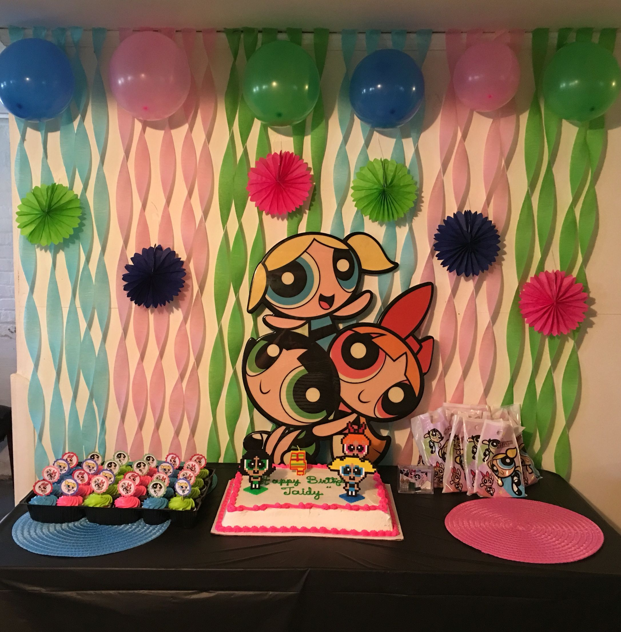 Powerpuff girls birthday party! Girl birthday themes