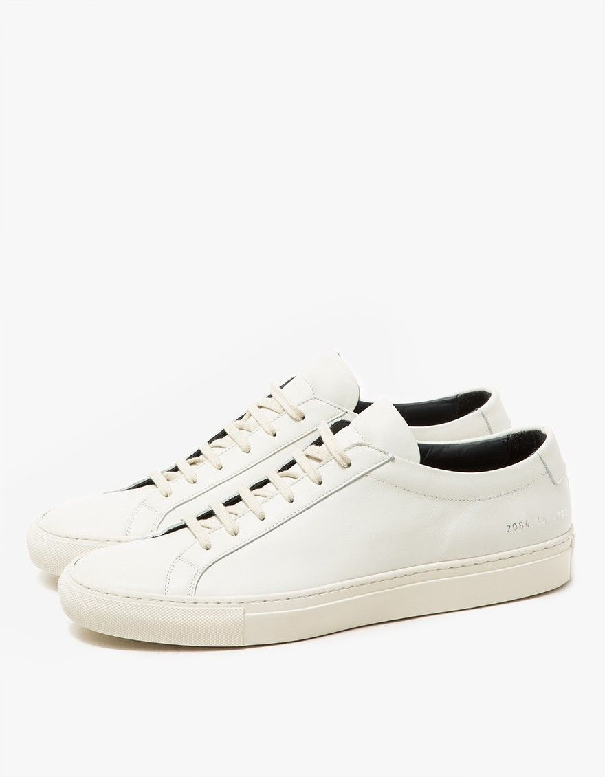 White Achilles flat sneaker Common Projects Fxp1c