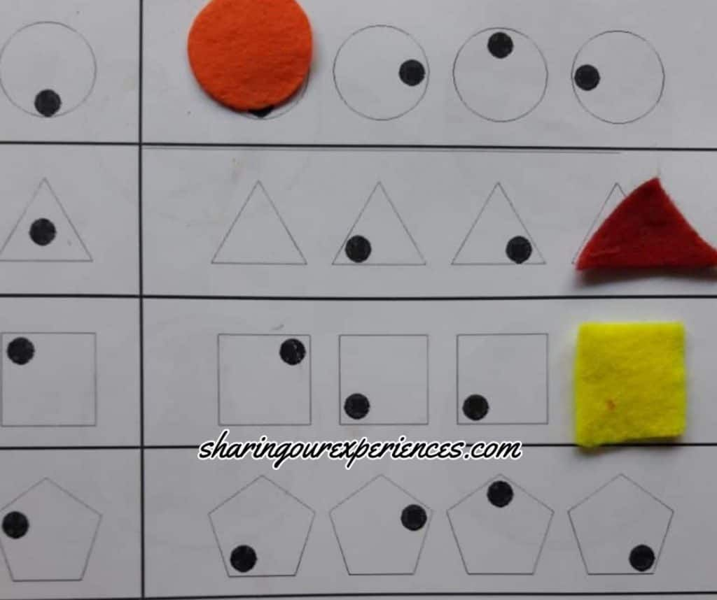 8 Simple Diy Activities To Strengthen Visual Spatial Intelligence For Preschoolers Sharing Our Experiences Visual Perception Activities Diy Activities Fine Motor Skills Activities [ 858 x 1024 Pixel ]