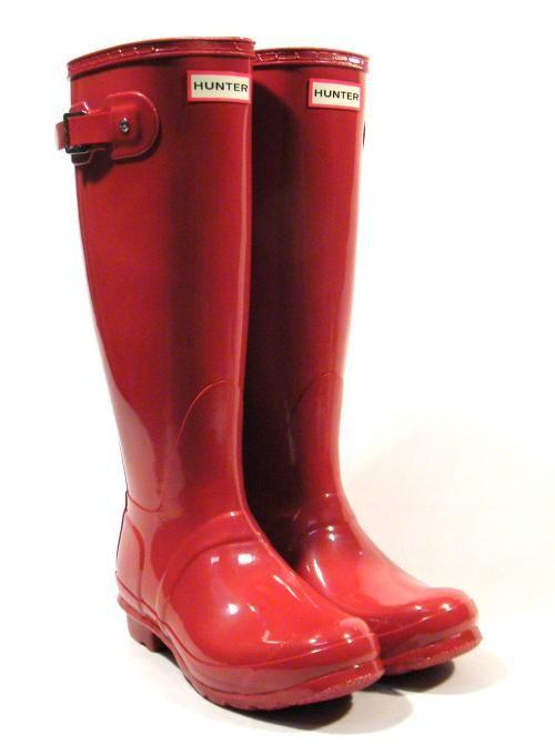 Hunters Original Tall Gloss Botas de Agua para Mujer
