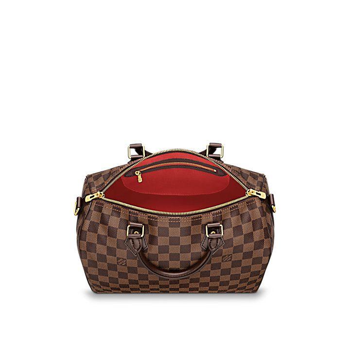 1998e76398 Cadeau de Saint-Valentin de luxe pour Femme - Speedy Bandoulière 30 Toile  Damier Ebène Femme Sacs à main | LOUIS VUITTON