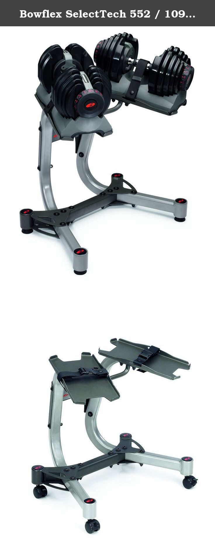 Bowflex Selecttech 552 1090 Dumbbell Stand 000 3682 Features Dumbbell 552 1090 Stand Ergonomic With Images No Equipment Workout Strength Training Equipment Bowflex
