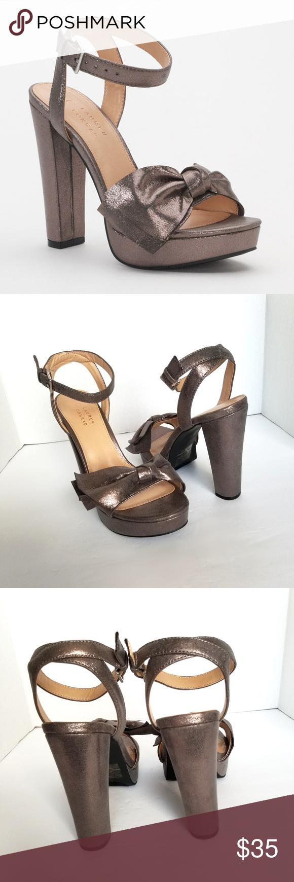 NEW! Lauren Conrad Womens Admirer High Heel Sandals Blush