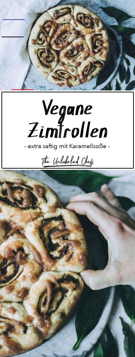 Vegane Zimtrollen mit Karamellsoße - The Unlabeled Chefs ...