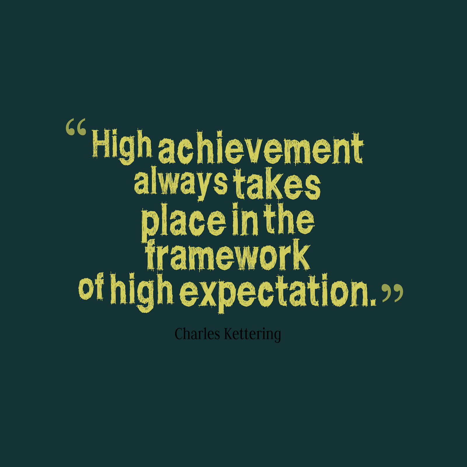 high expectations for students quotes Google Search