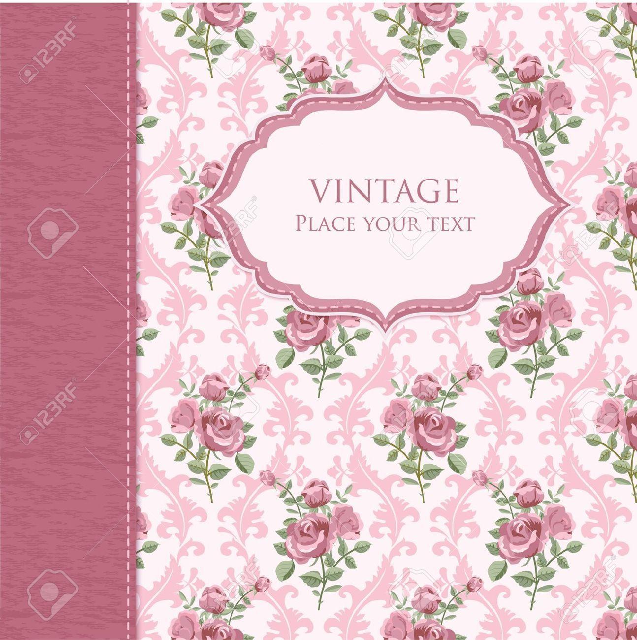 Image Result For Vintage Flower Background