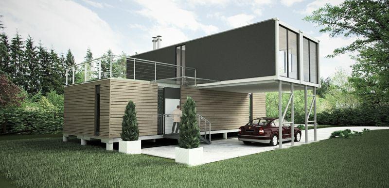 container haus das traumhafte eigenheim in 2018 haus pinterest. Black Bedroom Furniture Sets. Home Design Ideas