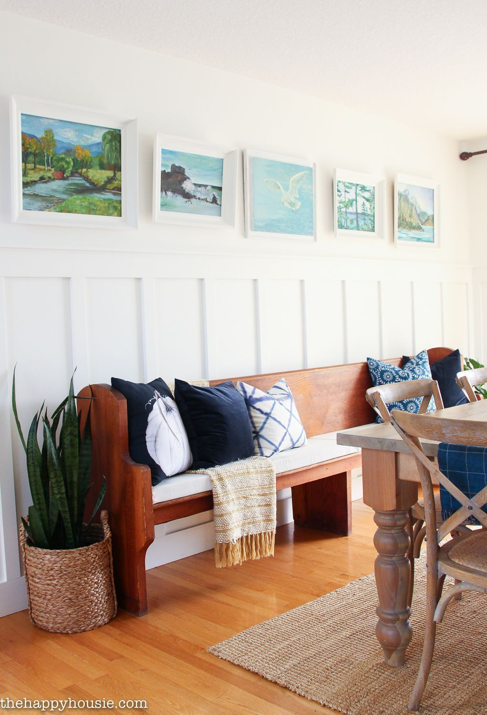 inovative ideas of dining room wall decor and wall art wall