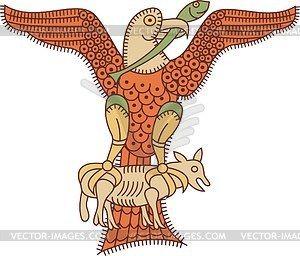 Орел - клипарт в векторном формате