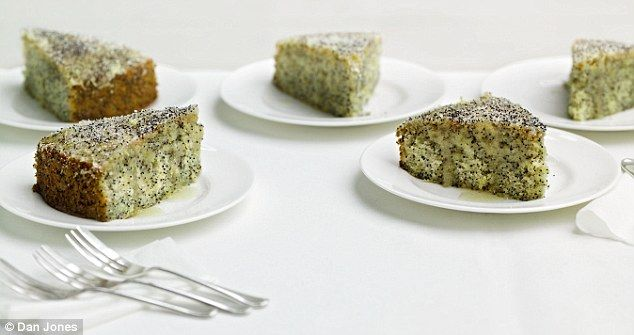 Recipe Lemon Drizzle Cake Delia Smith: Delia's Cakes: Double Lemon Drizzle Cake With Poppy Seeds