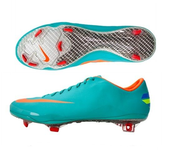 Nike Mercurial Vapor VIII FG Mens Firm Ground Soccer Cleats(Retro Total  Orange Challenge Red