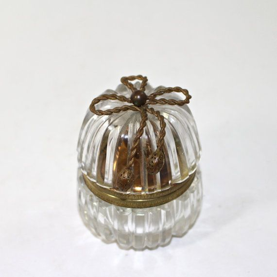 A Beautiful Example Of A Crystal Table Lighter Marked On The Inside Depose And Made In France The Inside Lig Light Table Crystals Antique Glassware