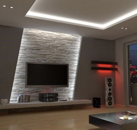 Wohnzimmer Fascia House Pinterest Electric Fires