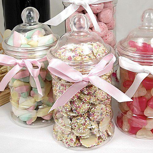 Plastic Sweet Jars from CelebrationsPlus.com 1.50 each
