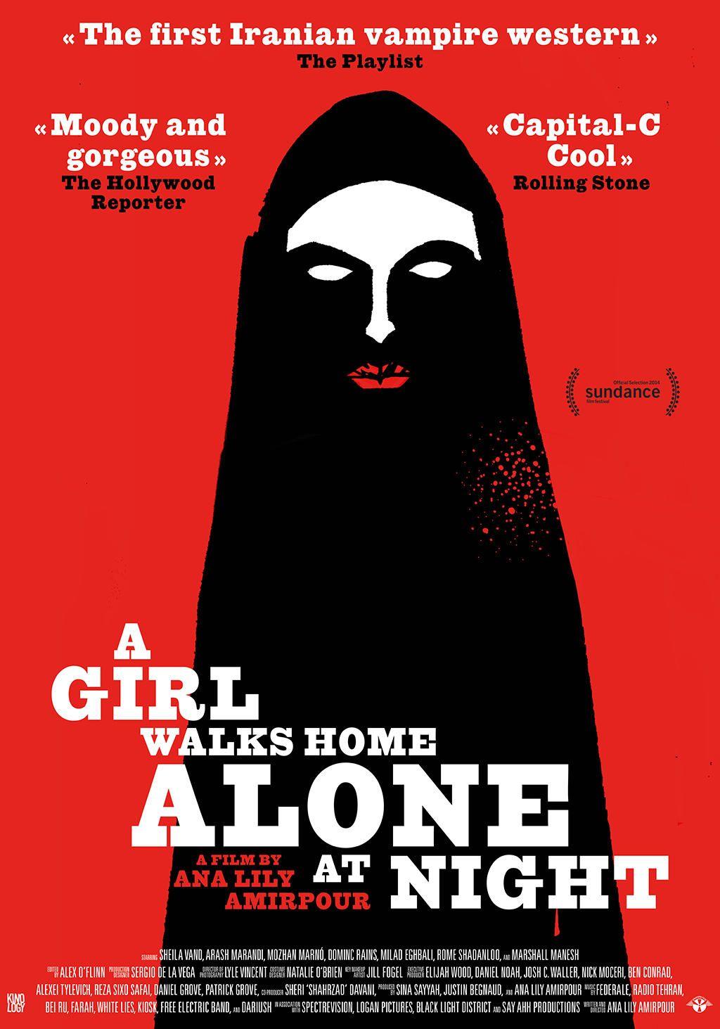 A Girl Walks Home Alone at Night (Девушка возвращается одна ночью домой) - Ana Lily Amirpour (2014)