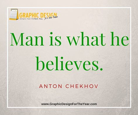 Enough #Graphics for the Entire #Year! 520! No more #Social #Media #Anxiety ! We can help you be a social media guru! Fast! Man is what he believes. -Anton Chekhov - www.GraphicDesignfortheYear.com