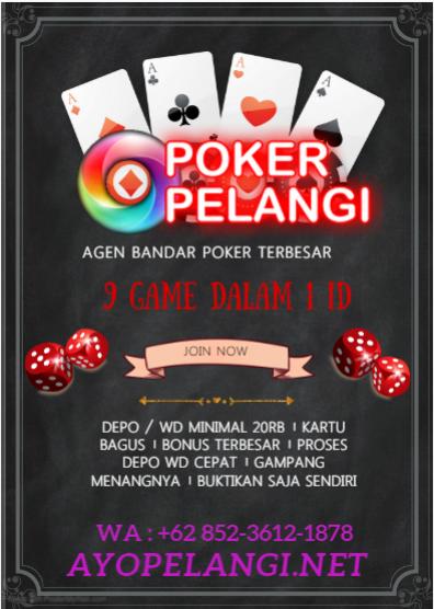 Pin On Poker Pelangi Mantap