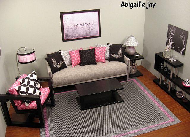 Butterflies - barbie wohnzimmer möbel