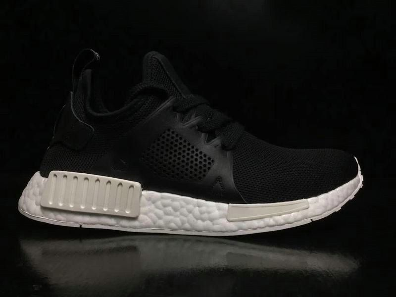 180b30b33 Cheap Unisex Adidas Originals NMD XR1 Leather Cage Core Black White BY9921  On Sale