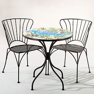 Rio Bird Cadiz Mosaic Bistro Collection At Cost Plus World Market Decor Bistro Table Set Home Decor