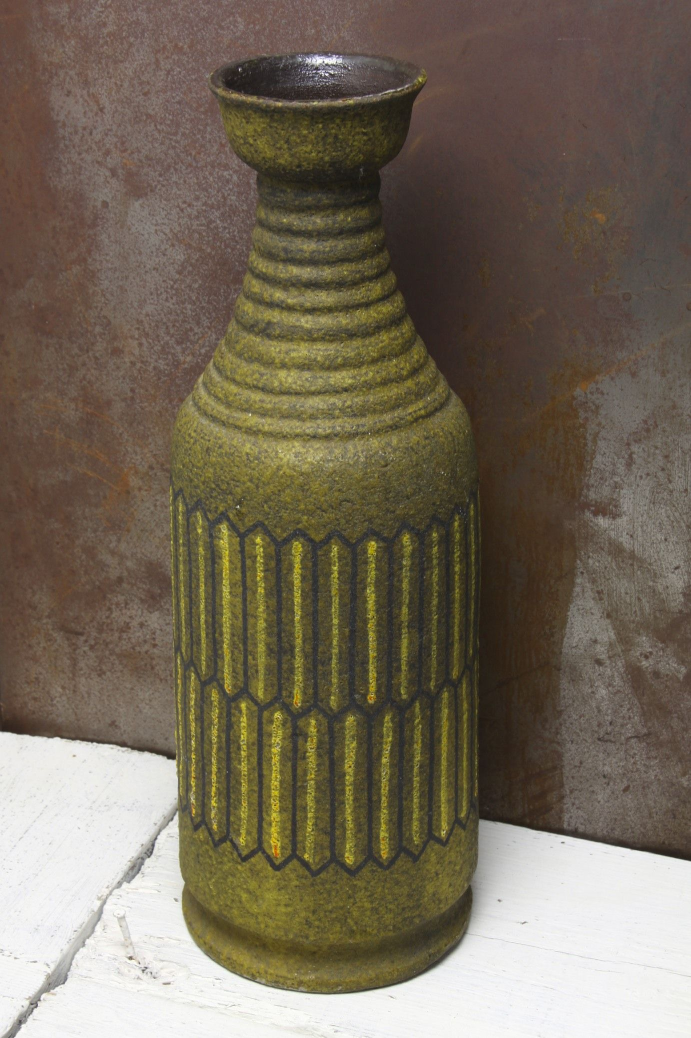 Large Bitossi floor vase, Italy circa 1960's Keramikk