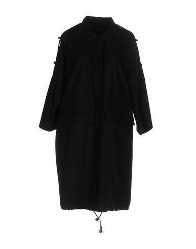 ALESSANDRO DELL'ACQUA Women's Overcoat Black 12 US