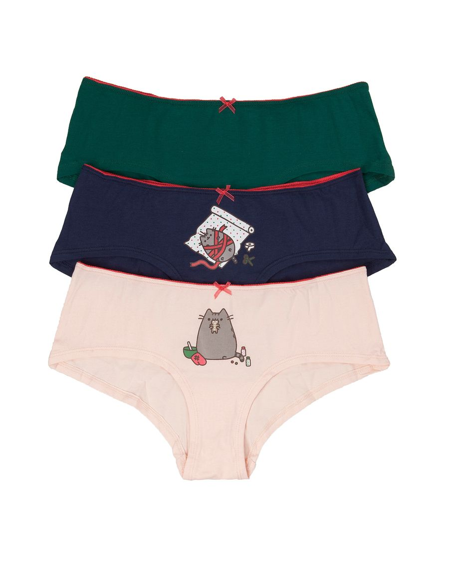 c20e21ee8343 Gift ideas! Packs Pack of 7 Pusheen cotton briefs | Kids Inspiration ...