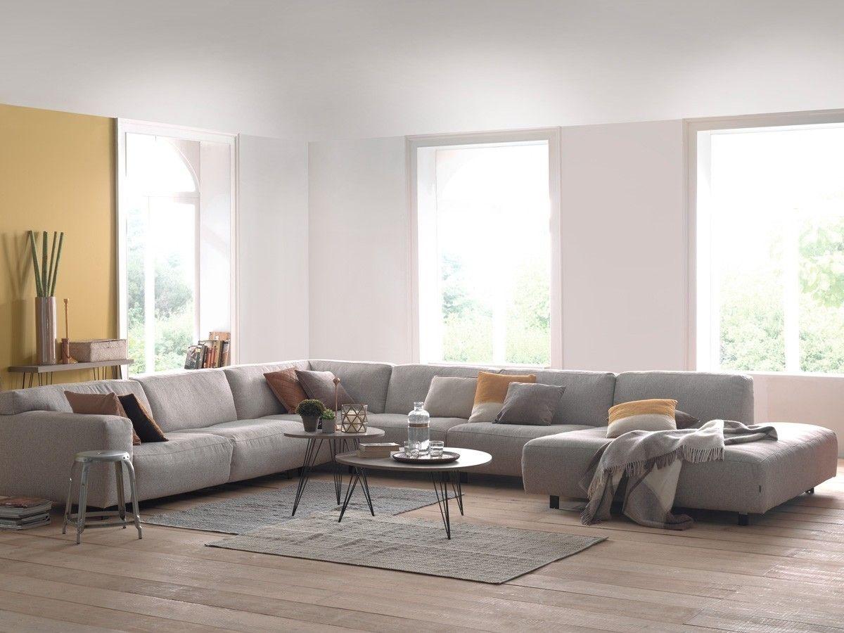 Stijlvol hoeksalon met een keuze uit vele elementen poten kleuren en zithoogtes de bekleding - Kleuren salon ...