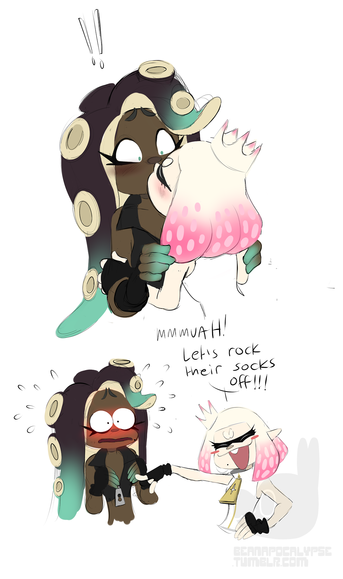 Kiss Of Encouragement With Images Splatoon