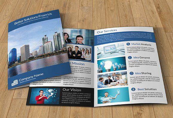 Corporate Brochure Template V29 Brochure Template Corporate