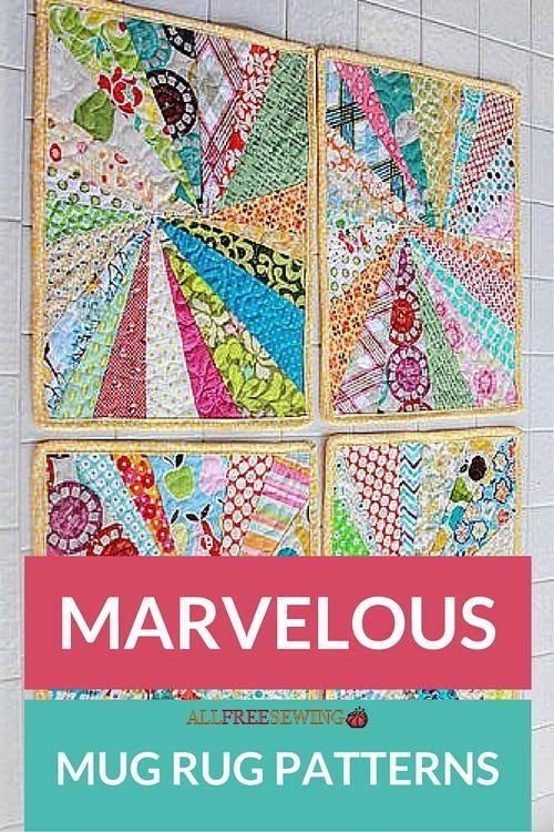 Marvelous Mug Rug Patterns